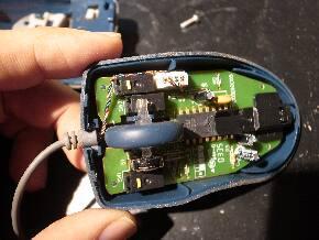 マウスクリックスイッチ分解