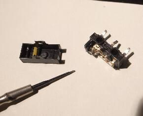 マウスのクリックスイッチを分解