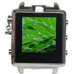 決定的瞬間をさりげなく撮影!ビデオカメラ内臓腕時計